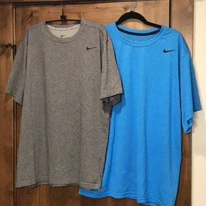 Bundle of 2 Nike Dri -Fit tees, XL
